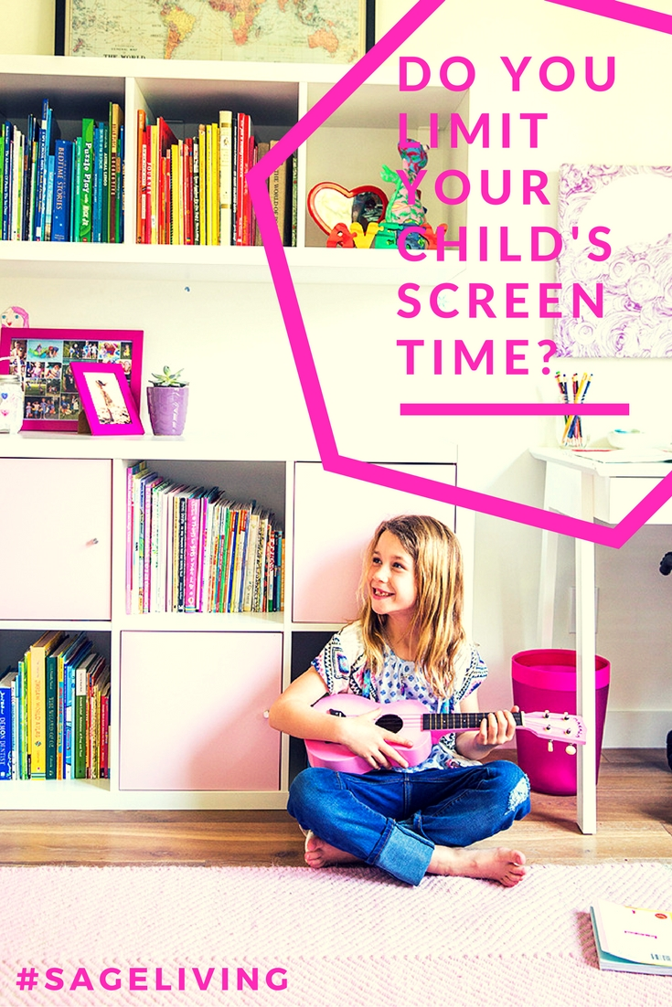 Do you limit your child's screen time?